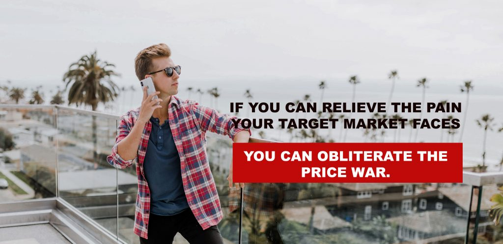 Successful Brand relieve the pain of it's customers