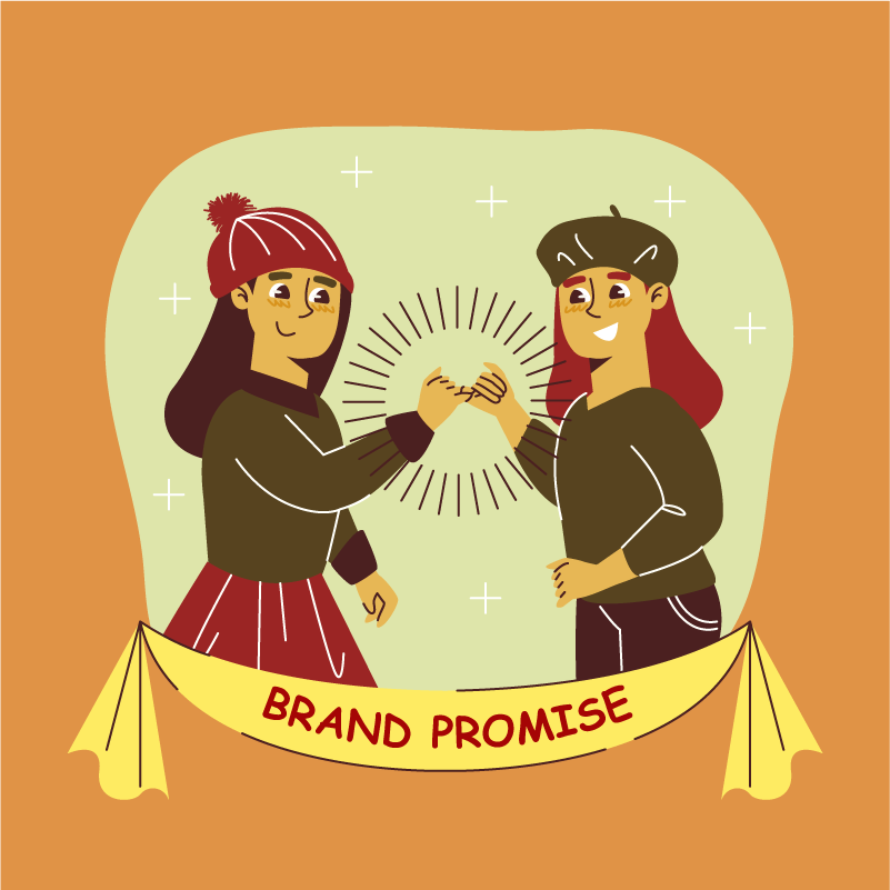 Brand is a promise a brand makes to it's customers, prospects and audience