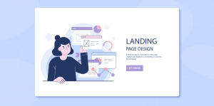 An overview of a Landing Page and it's types